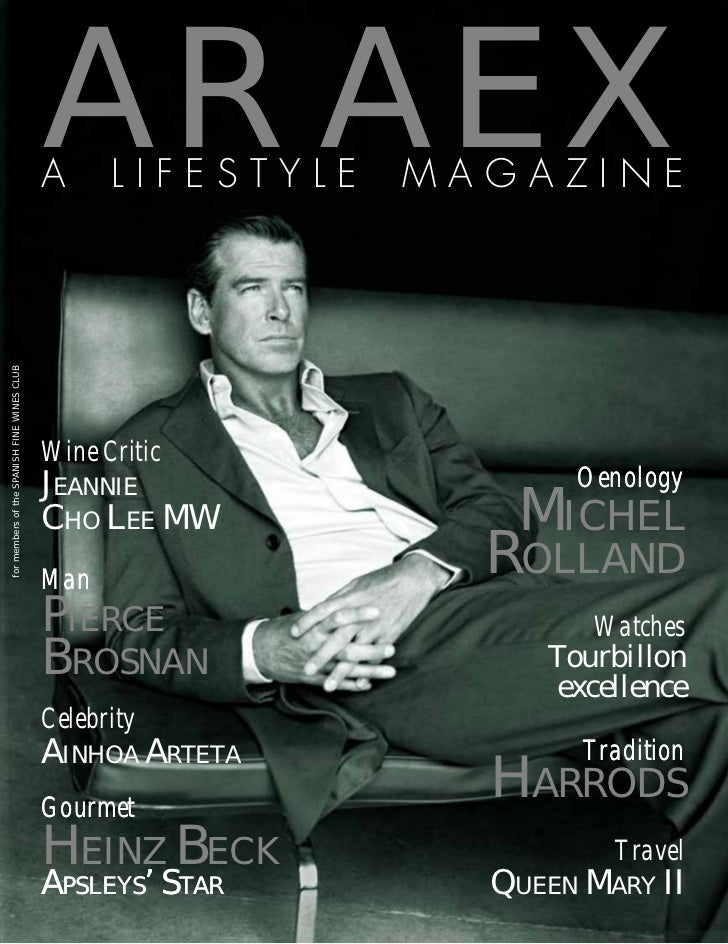ARAEX                                             A     LIFESTYLE   MAGAZINEfor members of the SPANISH FINE WINES CLUB    ...