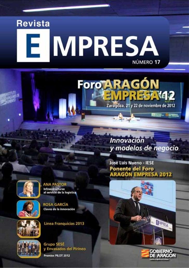 El Gobierno de Aragón, a través del Instituto Aragonés       la empresa participante un estímulo en la andadurade Fomento ...