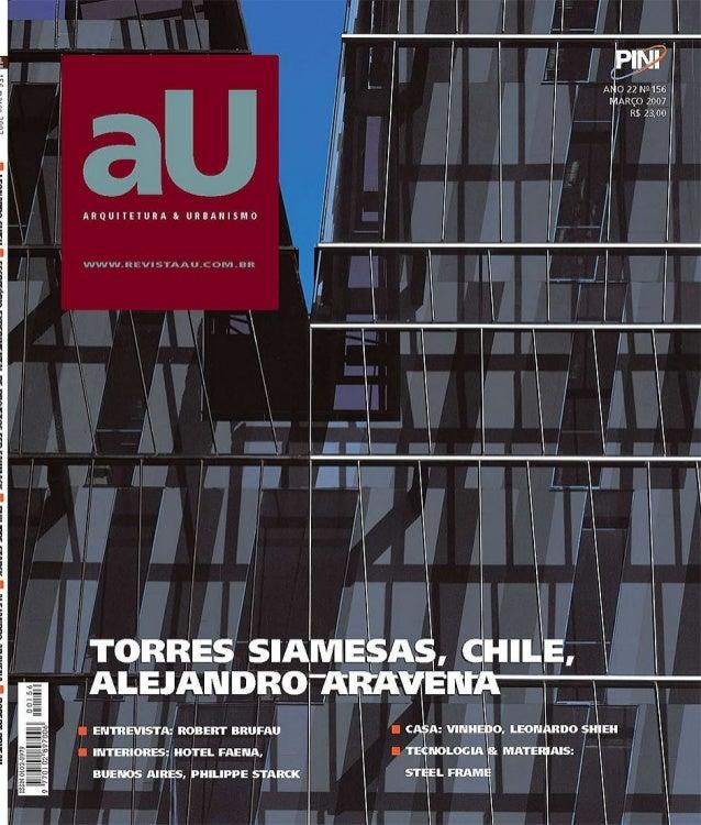 Revista au arquitectura y urbanismo 2007 for Arquitectura y urbanismo