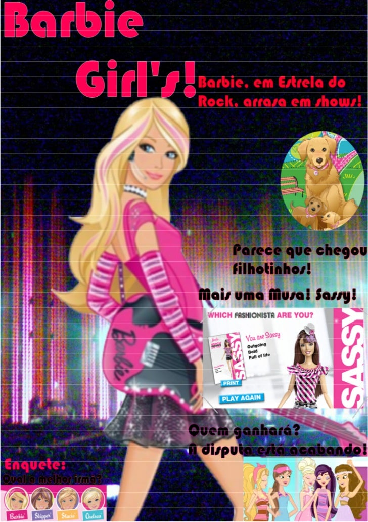 Revista Barbie Girl's