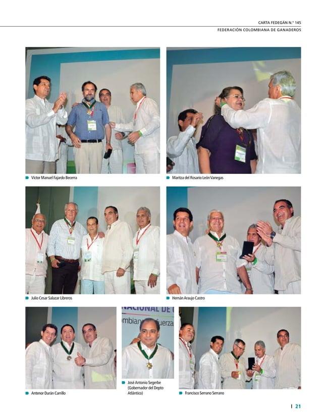 23  FEDERACIÓN COLOMBIANA DE GANADEROS carta fedegÁn N.° 145 Campos de recría Otrosistemainteresanteconelquecuenta Urugua...