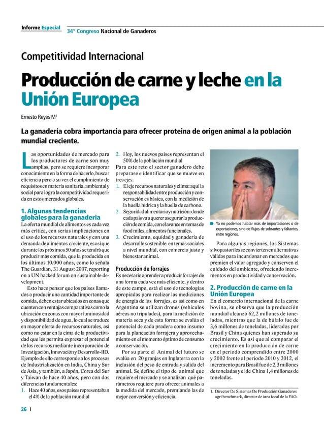 Informe Especial 28 34° Congreso Nacional de Ganaderos Competitividad internacional DesarrollodelacadenacárnicaenColombia ...