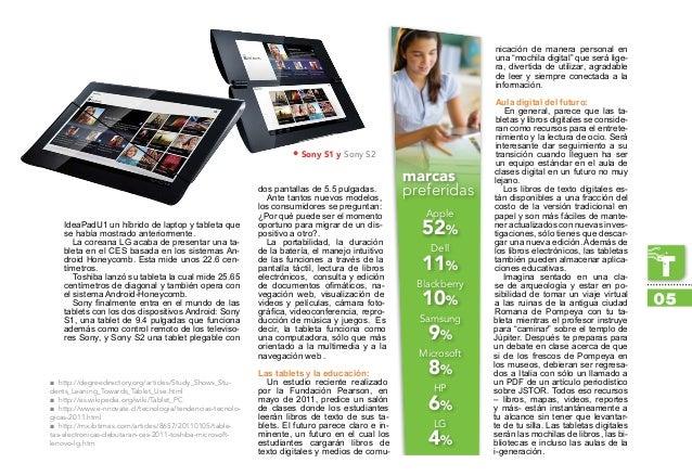 IdeaPadU1 un híbrido de laptop y tableta que se había mostrado anteriormente. La coreana LG acaba de presentar una ta- ble...