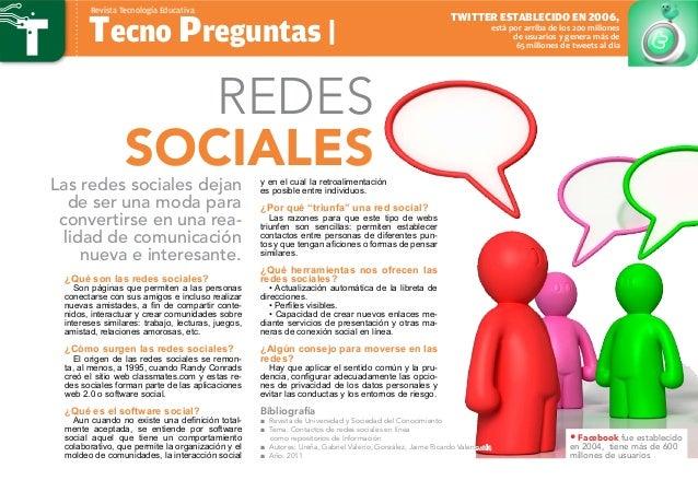 ¿Qué son las redes sociales? Son páginas que permiten a las personas conectarse con sus amigos e incluso realizar nuevas a...