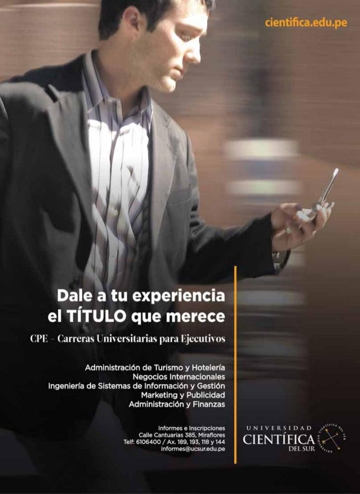 CIENTÍFICA CIENTÍFICA Vol 8 N° 2, mayo-agosto 2011                      Revista arbitradaDirectorDr. José Amiel PérezUnive...