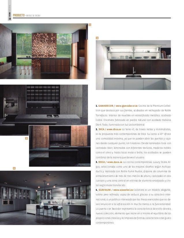 Altura de una cocina integral espero que construyas este for Altura de muebles de cocina