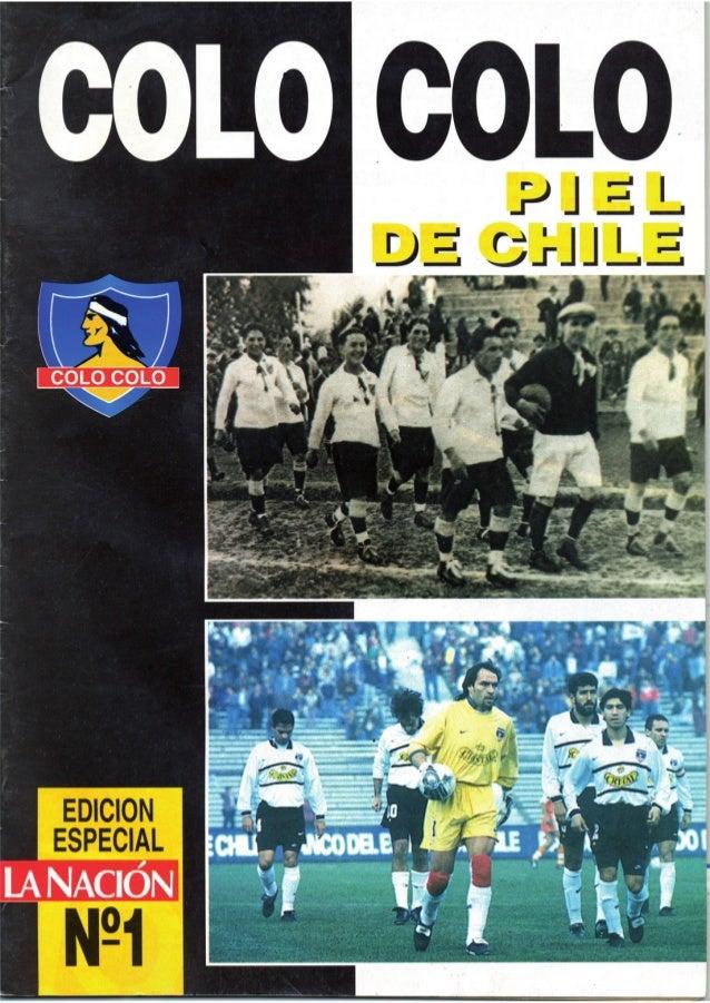 """Revista """"Colo Colo piel de Chile Nº1"""""""