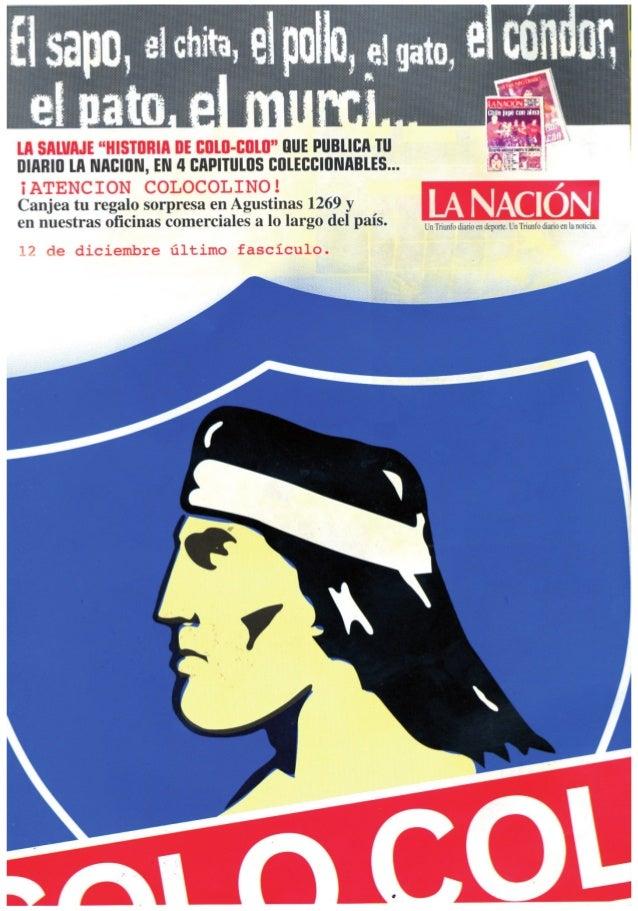 """Revista """"ColoColo piel de Chile Nº3"""" Slide 2"""