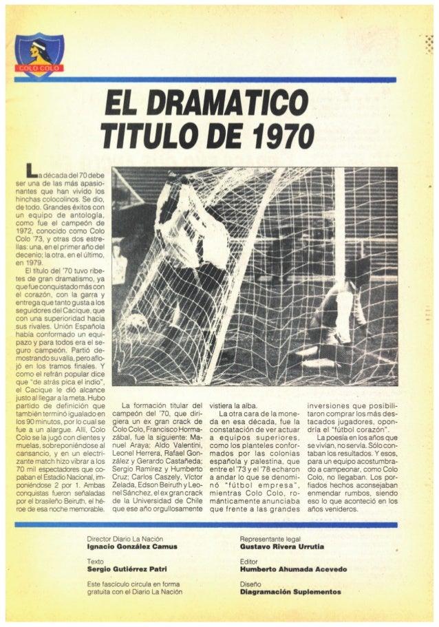"""Revista """"ColoColo piel de Chile Nº3"""" Slide 3"""