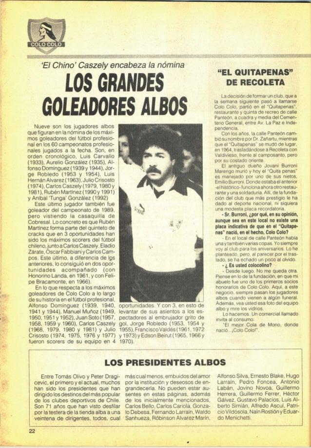 """Revista """"Colo Colo piel de Chile Nº4"""""""