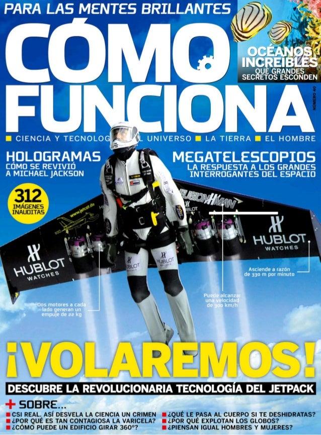Revista CÓMO FUNCIONA. Julio 2014