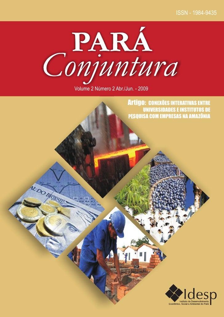ISSN - 1984-9435Volume 2 Número 2 Abr./Jun. - 2009                        Artigo: CONEXÕES INTERATIVAS ENTRE              ...