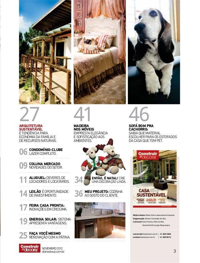 Revista CONSTRUIR & decorar   Ed. nº 03 Slide 2