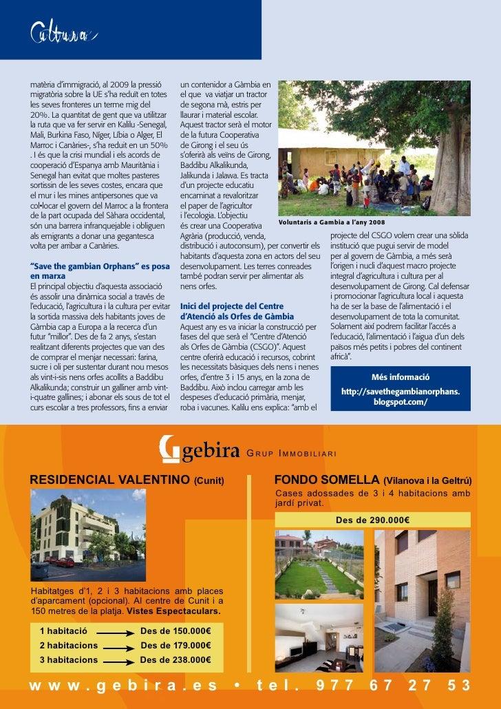 Revista Cubelles Cooperació Num 5  Tardor 2009