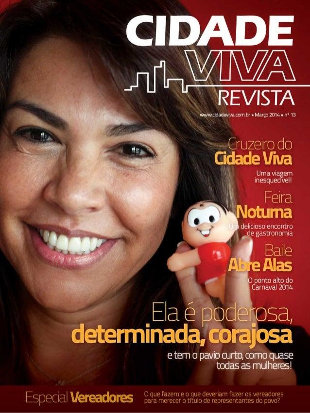Revista Cidade Viva - Março 2014