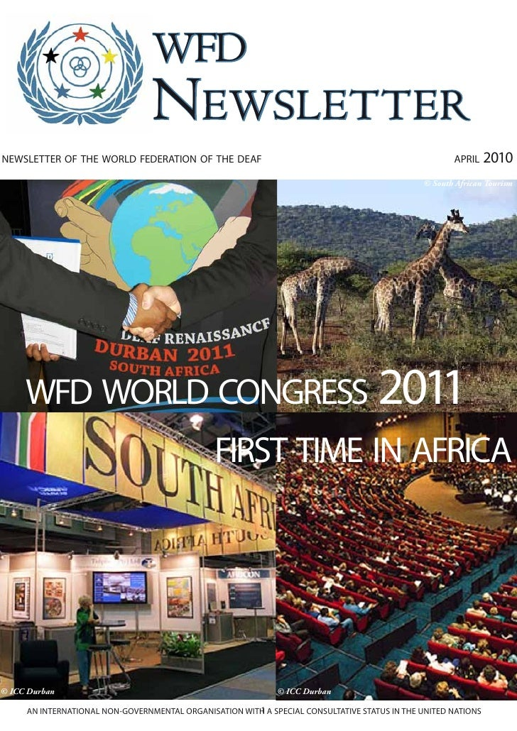 wfd                                  Newsletter newsletter of the world federation of the deaf                            ...