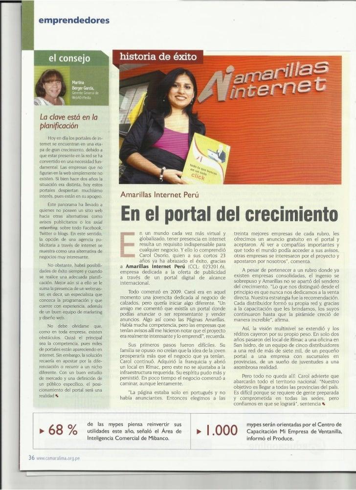 Entrevista - Cámara de Comercio de Lima
