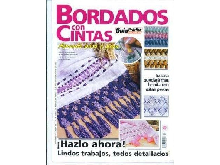 Revista de bordado com fita1