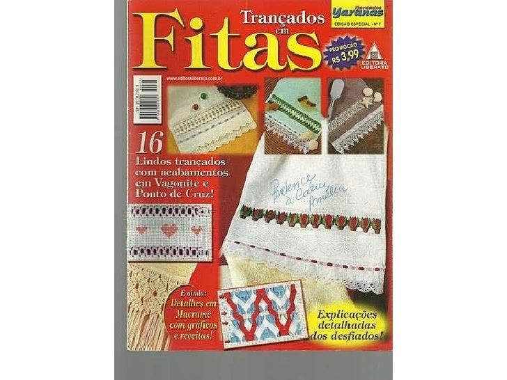 Revista de bordado com fita2