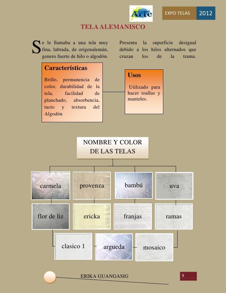 Tipos de telas caracter sticas y usos - Nombres de telas para cortinas ...