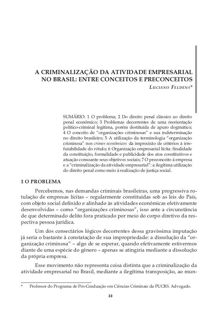 A DOUTRINA DA CEGUEIRA DELIBERADA                         E SUA (IN)APLICABILIDADE AO CRIME                               ...