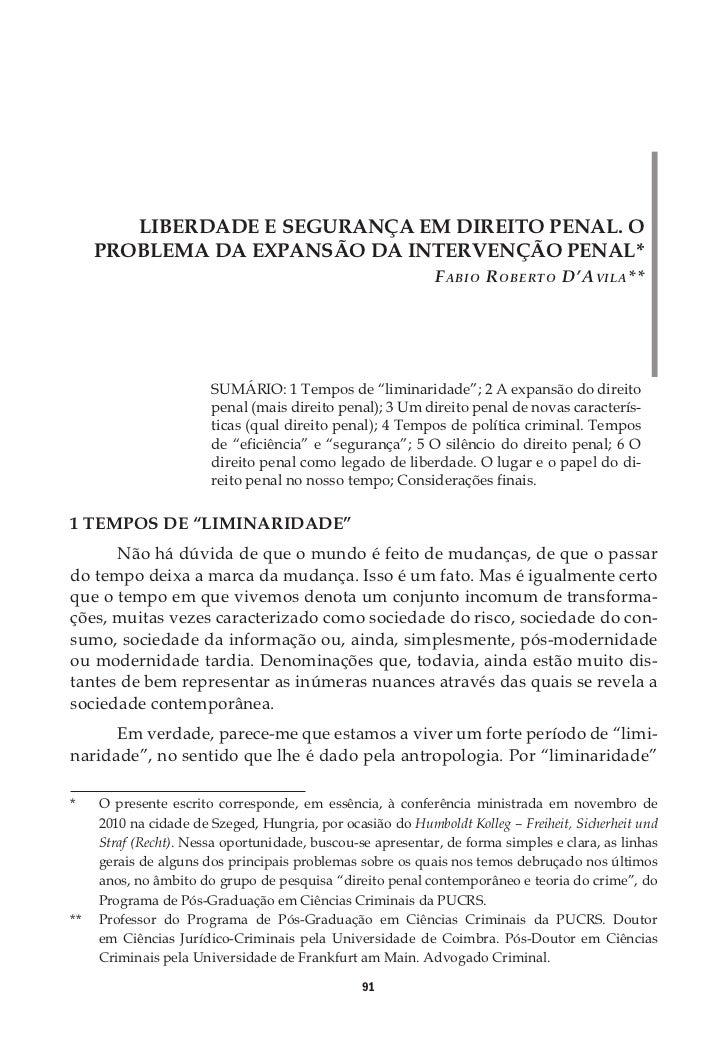 O PRINCÍPIO CONSTITUCIONAL DA LEGALIDADE DA    INTERVENÇÃO PENAL E TIPICIDADE PENAL: ALGUMAS     QUESTÕES ACERCA DO DIREIT...
