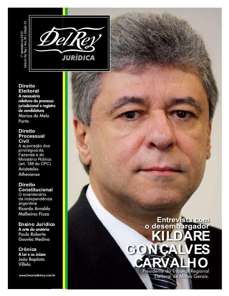 Artigo Revista Del Rey, Publicidade No Processo Judicial Eletrônico
