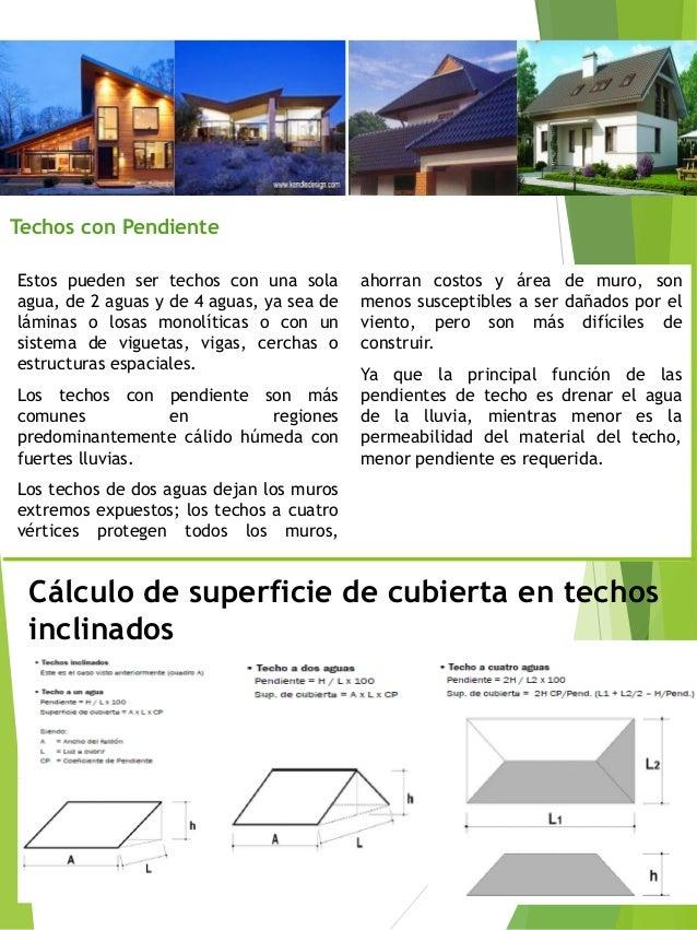 Revista de techos for Como hacer un techo a cuatro aguas