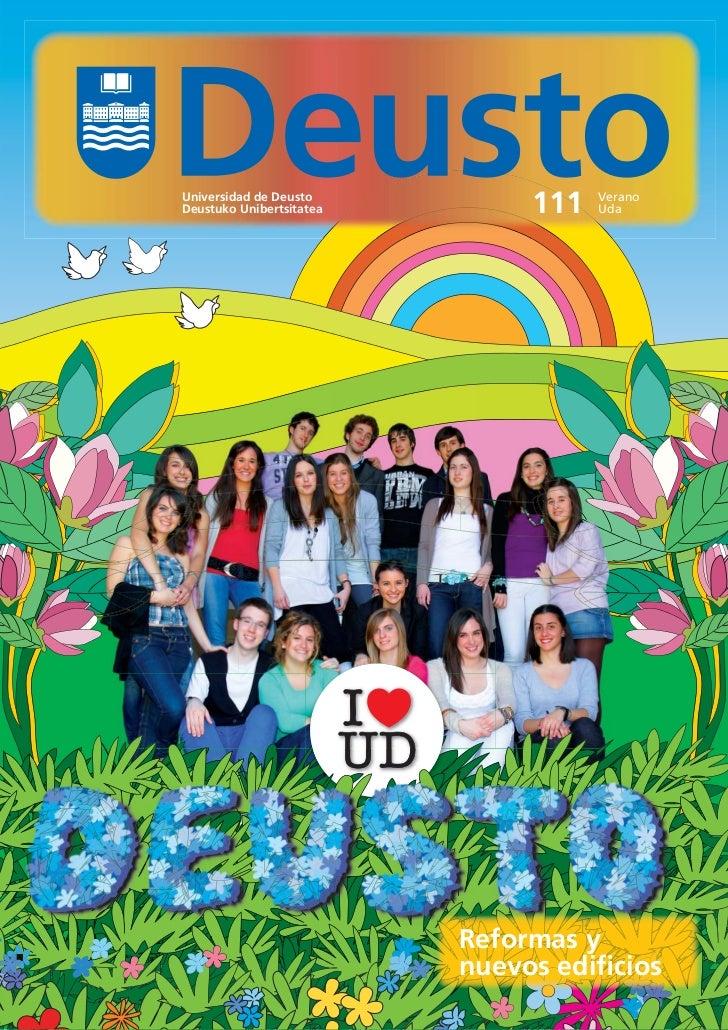 Universidad de DeustoDeustuko Unibertsitatea        111   Verano                                     Uda                  ...