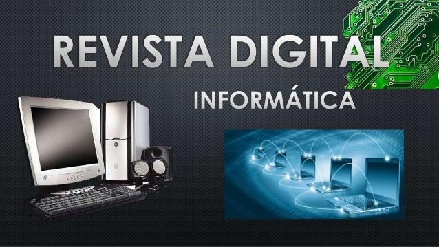 Revista digital sobre Informática