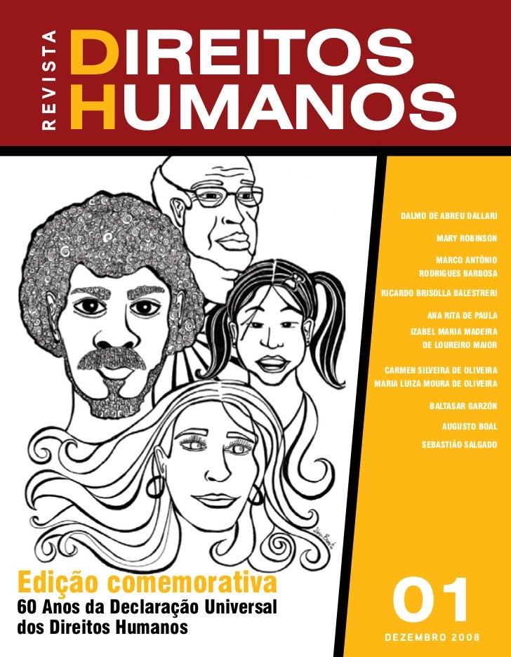 r e v i s ta                 direitos                 humanos                                        DAlmo DE ABREU DAllAR...