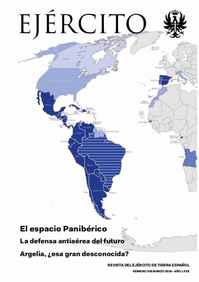 REVISTA DEL EJÉRCITO DE TIERRA ESPAÑOL NÚMERO 935 MARZO 2019 - AÑO LXXX EJÉRCITO EJÉRCITOMARZO2019-añoLXXXnúm.935 REVISTA ...