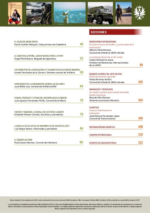 Revista Ejército Nº 940 julio 2019 Slide 3