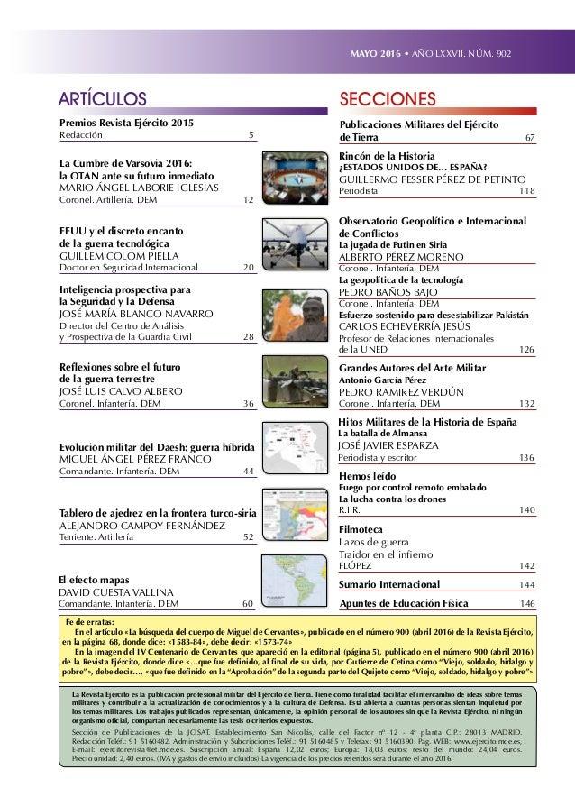 Revista Ejército mayo nº 902 Slide 3