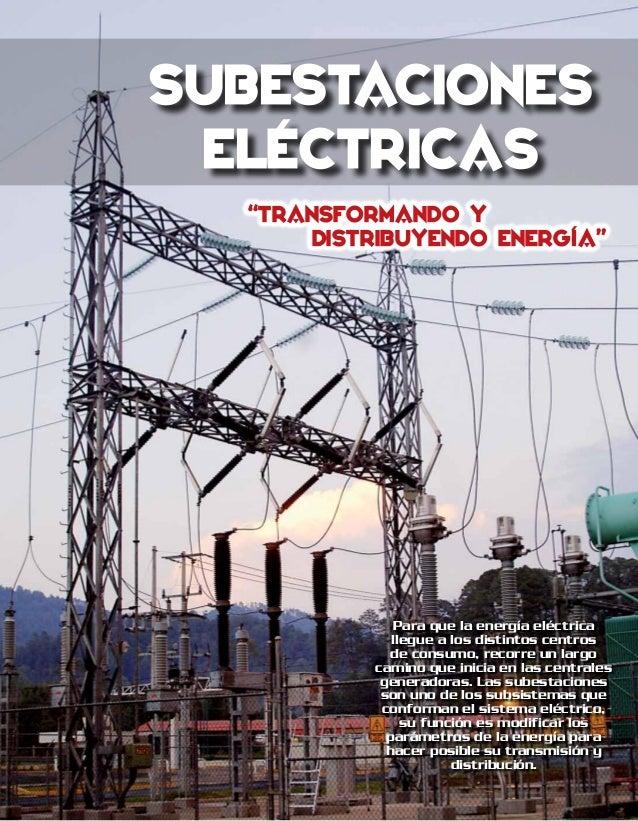 Circuito Que Recorre La Electricidad Desde Su Generación Hasta Su Consumo : Revistaelectrica subestaciones electricas