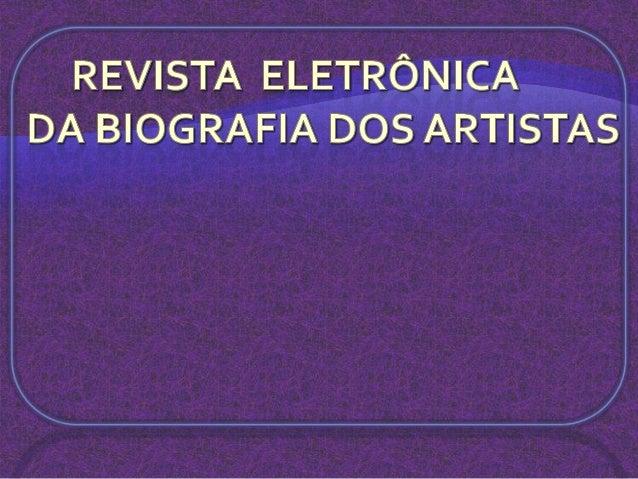 Revista eletrônica 6ªe