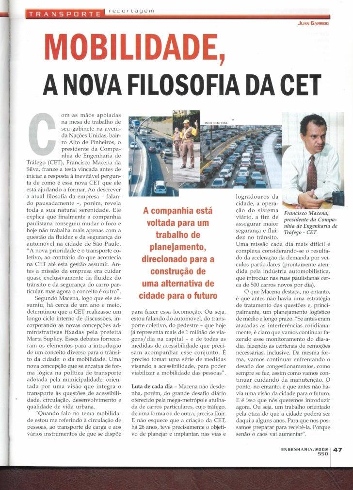 Revista Engenharia 550 de  2002
