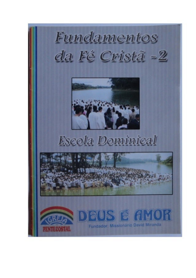 Revista Escola Dominical- IPDA