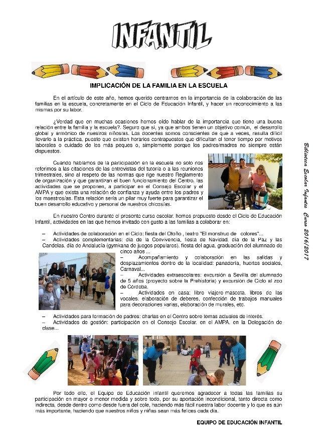 Revista escolar infantes 2016 2017 Slide 3
