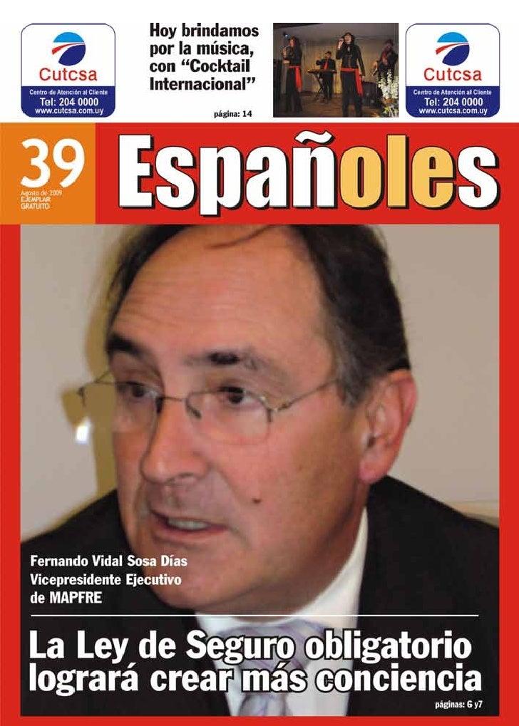 Montevideo, agosto de 2009 1