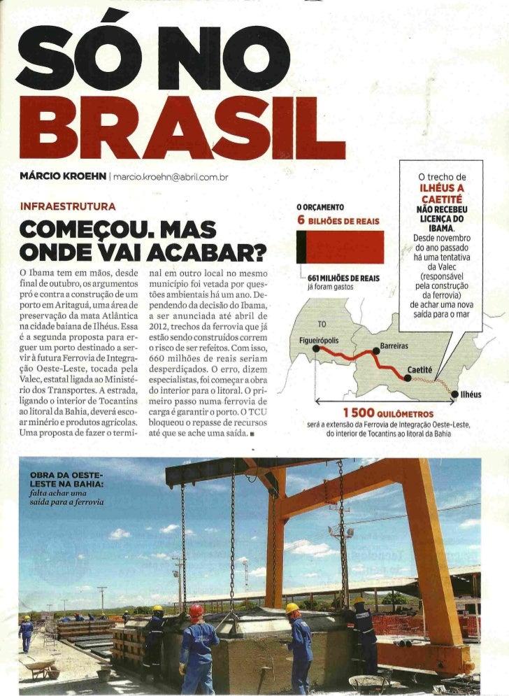 Revista Exame 16/11/2011