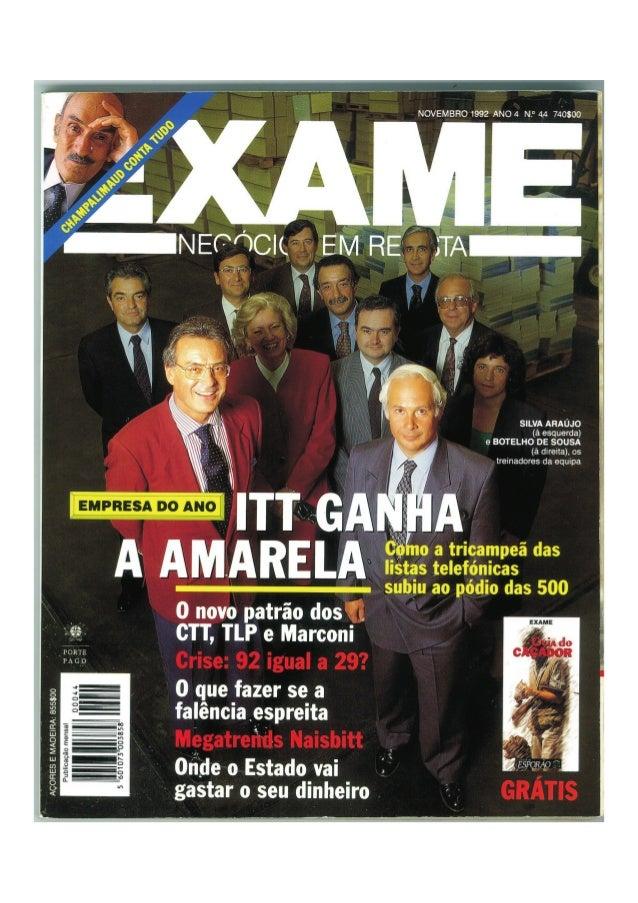 Revista Exame 1992