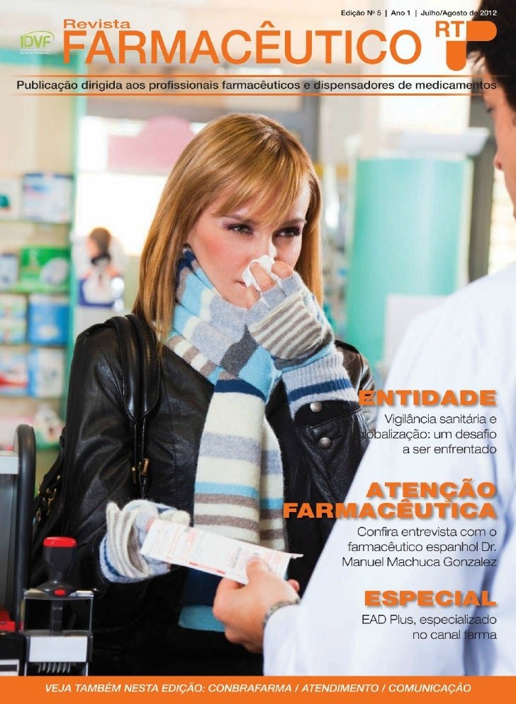 Revista farmaceutico rt ano 01 n 05