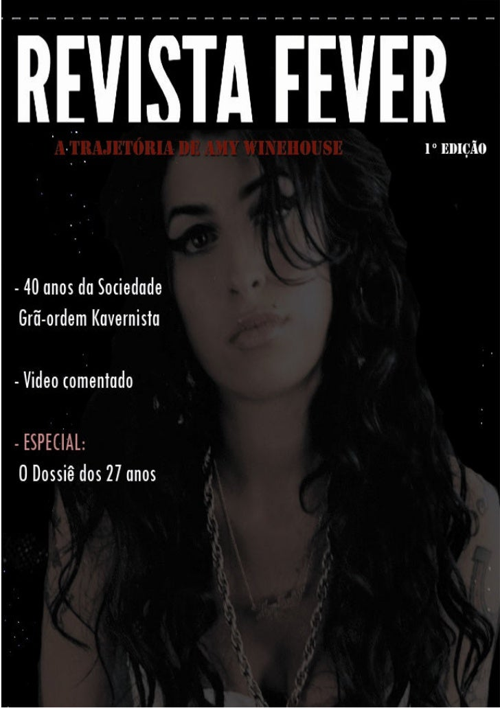 Revista Fever – 28/07/2011 – 1° Edição                                                                                    ...