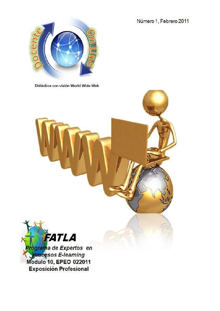 Didáctica con Visión World Wide Web                                        EditorialLa forma como se están utilizando las ...