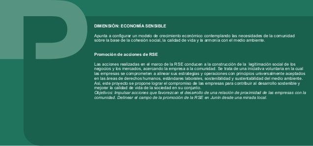 Promoción y fortalecimiento de la economía social La Economía Social apunta a generar estructuras productivas que se orien...