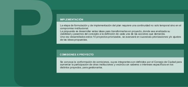 FORMULACIÓN . ACTORES 9