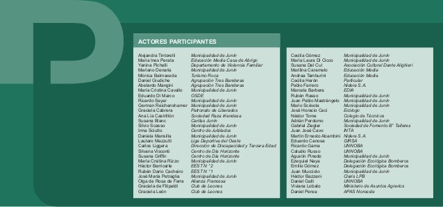 ACTORES PARTICIPANTES Julio Sacoccia Miguel Chami Marcela Garzillo Daniel Di Palma José Pelagagge Javier Siracusa Adrián S...