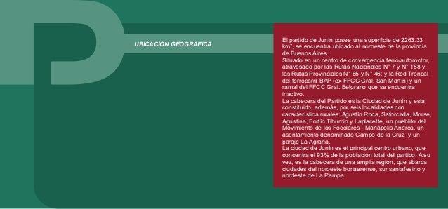 JUNÍN EN LA REGIÓN La ciudad de Junín tiene gran importancia en la región que comprende el noroeste bonaerense, sur santaf...
