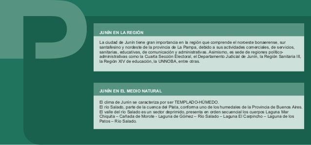 LA CIUDAD DE JUNÍN El desarrollo de la ciudad de Junín se produjo a partir de un fortín construido en 1827. El crecimiento...